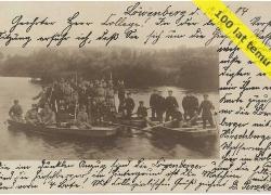 Żołnierze 155 Regimentu ze Lwówka Śl. na Bobrze 1904 r.